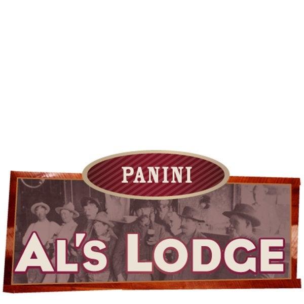 Al's Lodge Panini sign