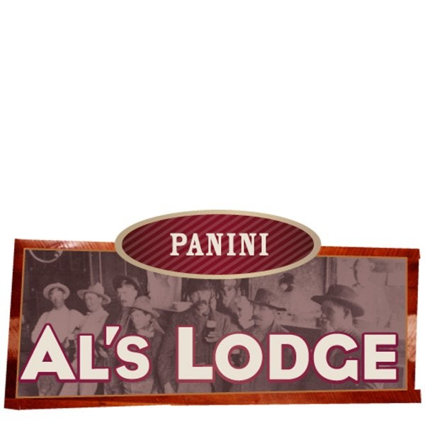 Al's Lodge Panini sign