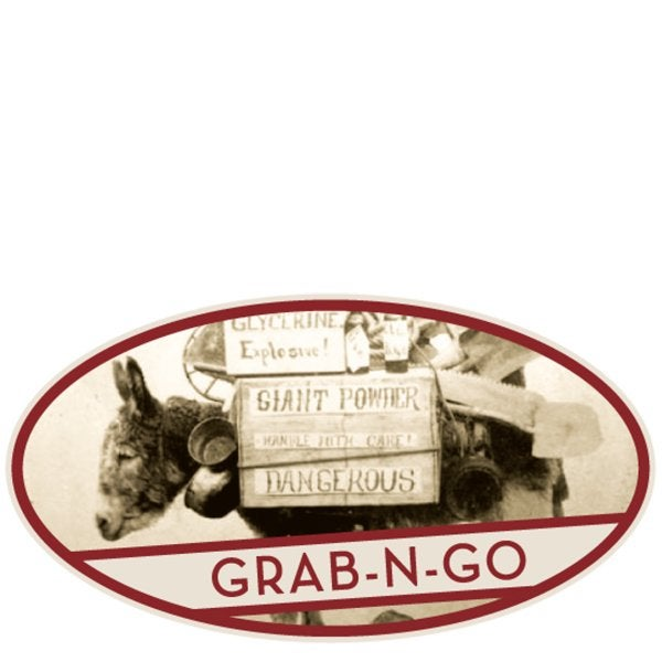 Grab and Go sign