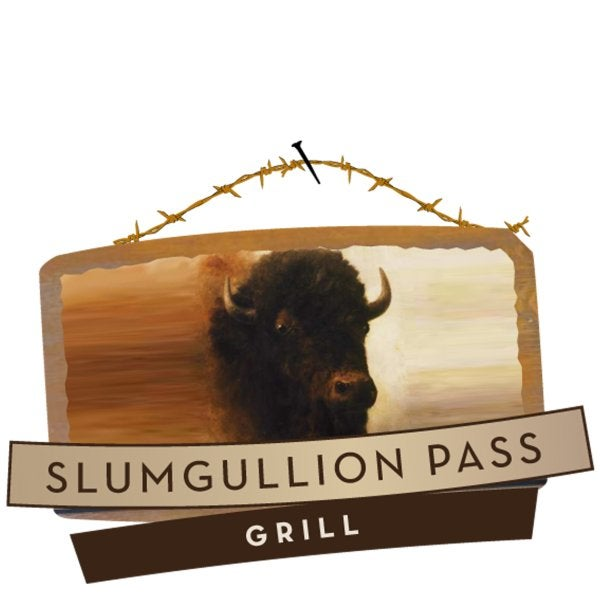 Slumgullion Pass Grill sign