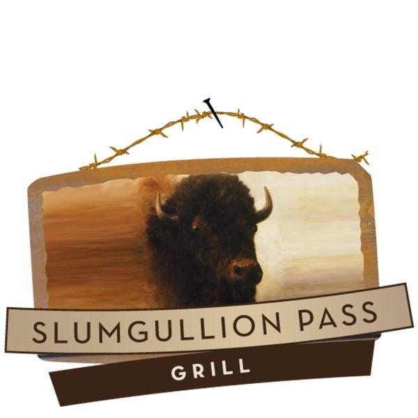 Slumgullion Pass Grill sign