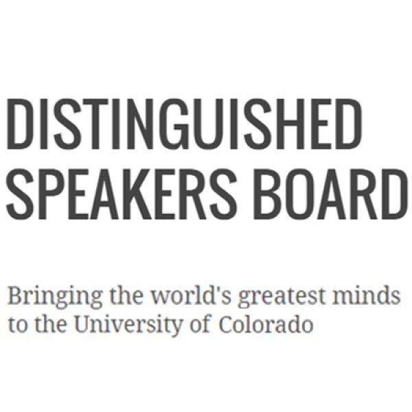 Button for Distinguished Speakers Board website