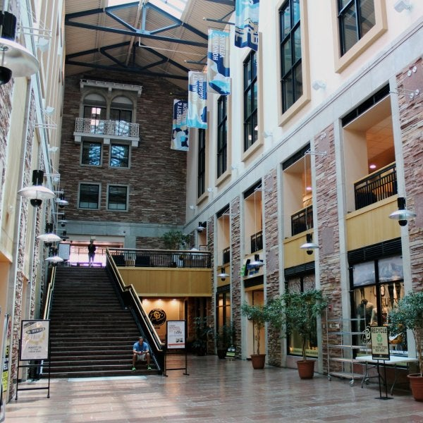 Inside the UMC Atrium