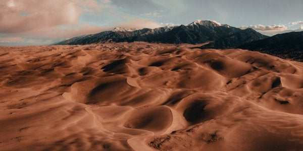 A photo of the Colorado sand dunes
