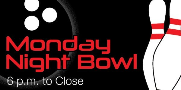 Monday Night Bowling Specials at The Connection
