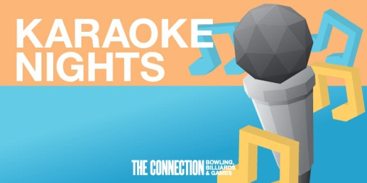 Karaoke Night in Club 156, inside The Connection