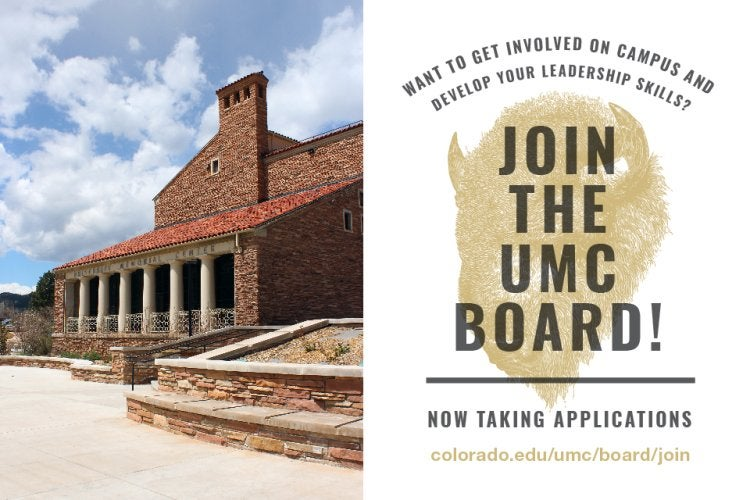 Apply now to join the UMC Board