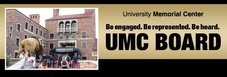 Be engaged. Be represented. Be heard. Join the UMC Board.