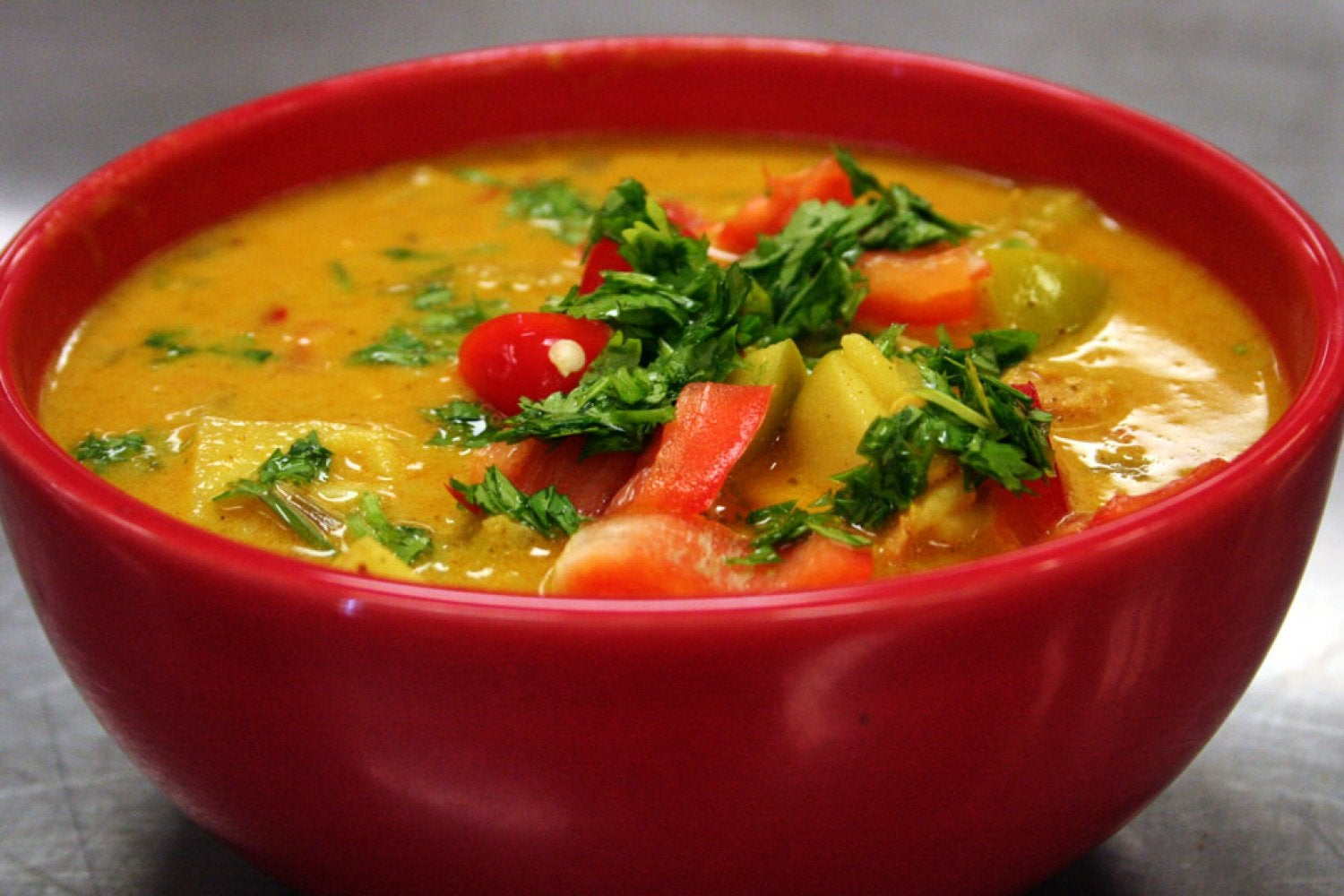 Curry Chicken Soup - a huge favorite!