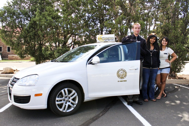 CU NightRide Staff with Car