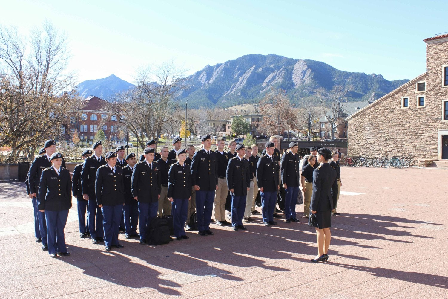 Members of the CU ROTC
