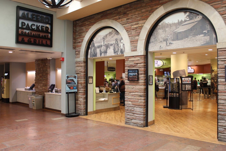 Alferd Packer Restaurant & Grill entrance