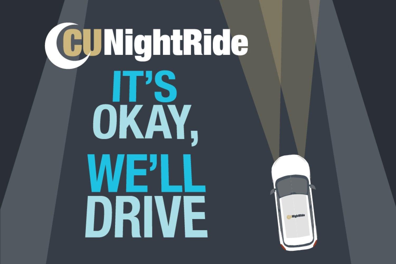CU NightRide - It's okay, we'll drive