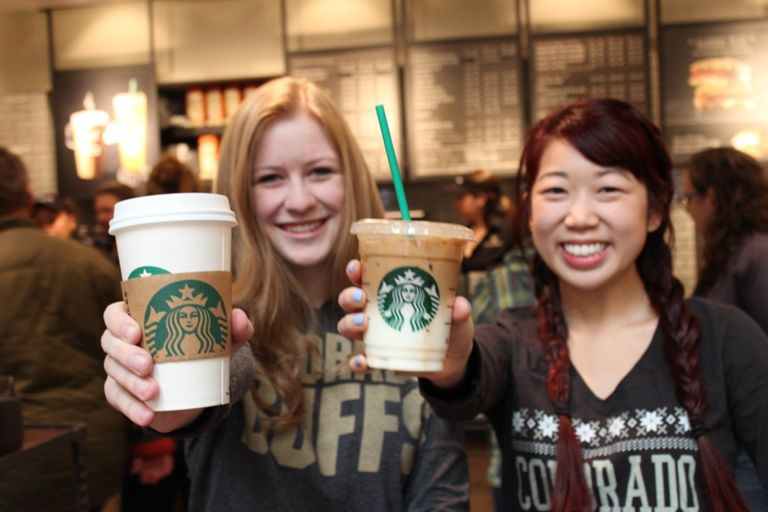 Enjoy your favorite specialty coffee drink, tea, cold beverages, snacks and more at the new Starbucks in the UMC!