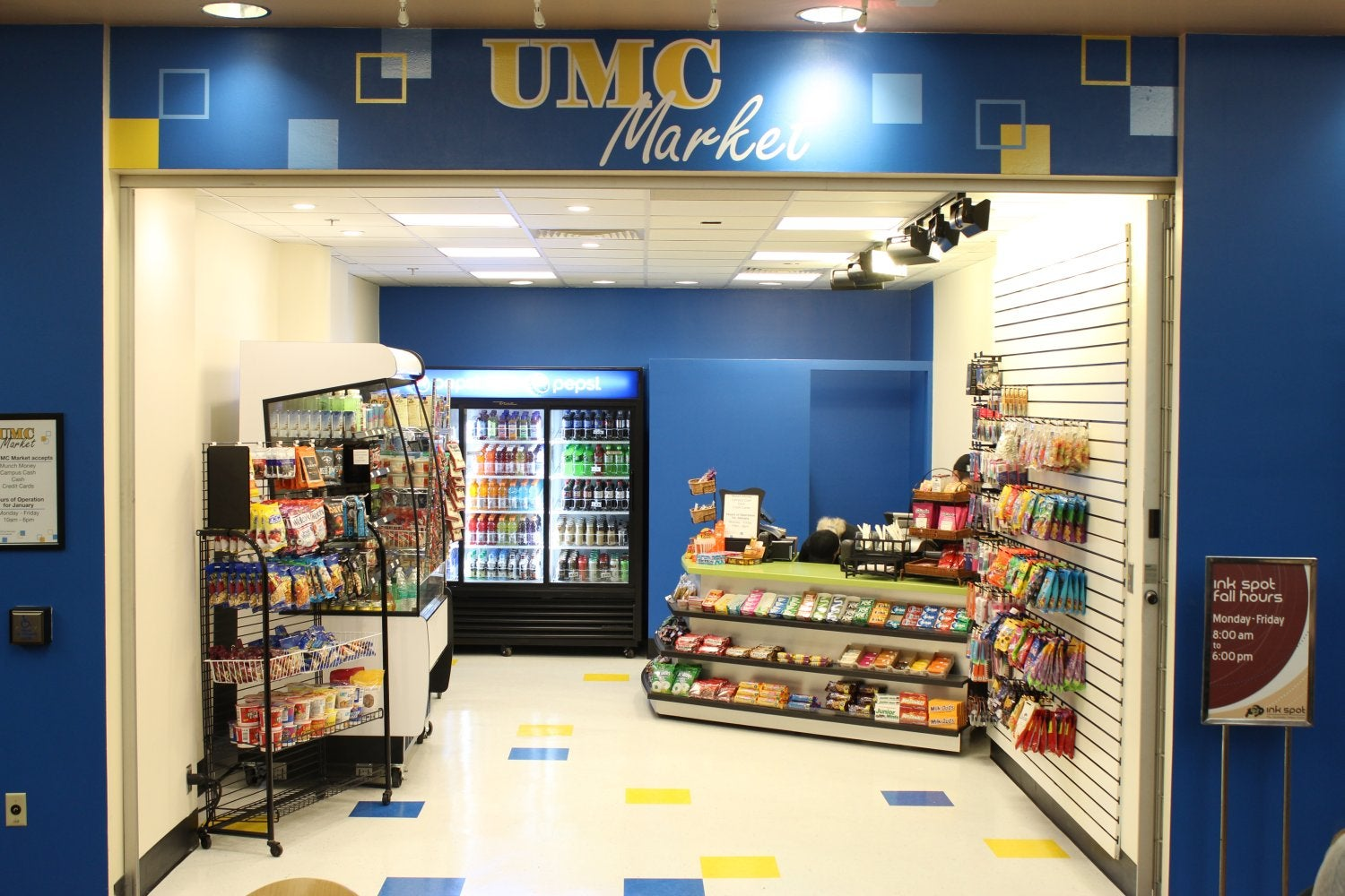 Exterior of the UMC Market, first floor UMC