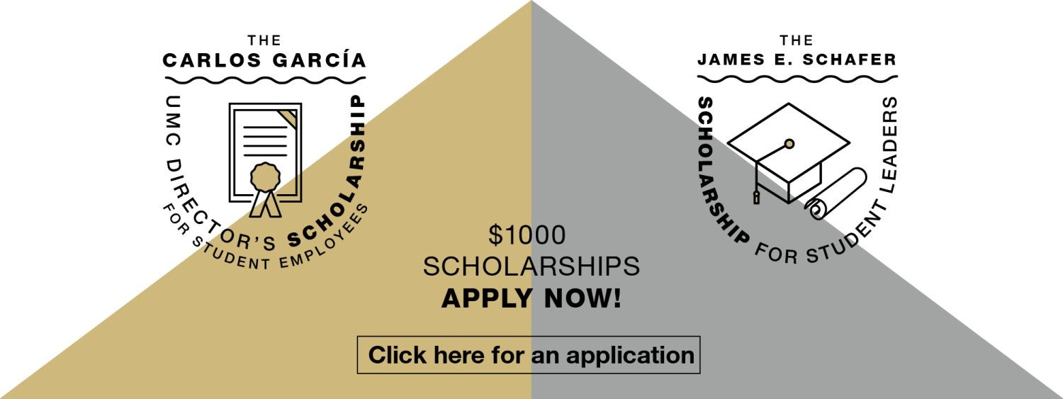 Apply now for a $1000 scholarship from the UMC