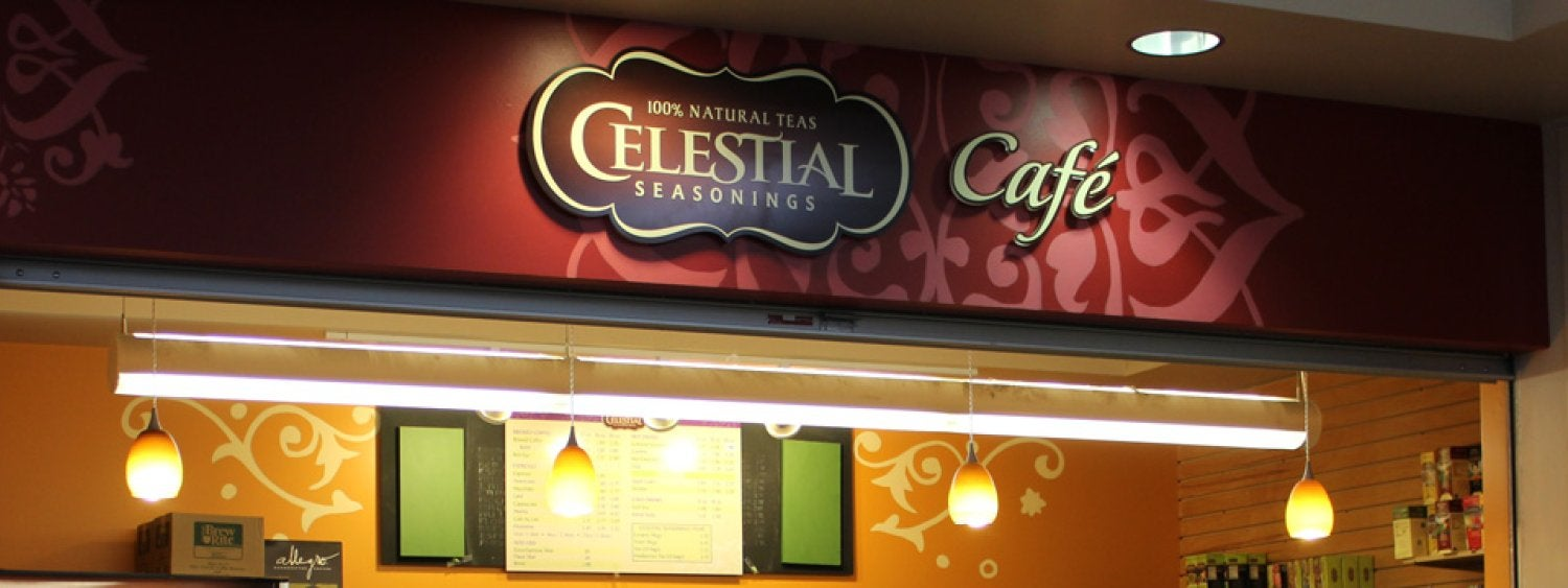 Celestial Seasonings Cafe 100% natural teas