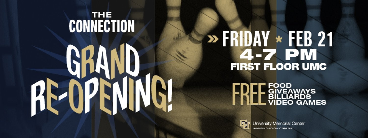 The Connection Grand Re-opening, Friday, Feb. 21, 4-7 p.m.