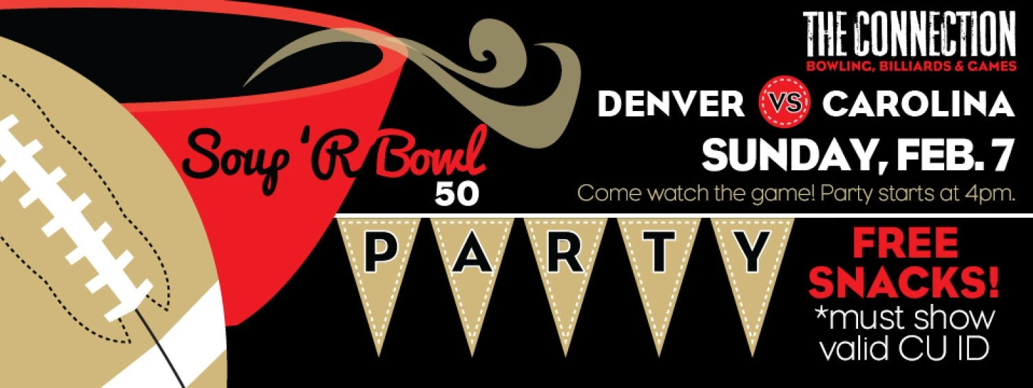 Soup 'R Bowl Party at The Connection February 7