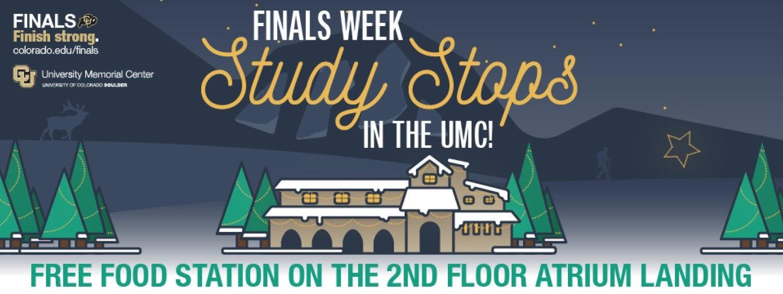 Finals Week Study Stops in the UMC