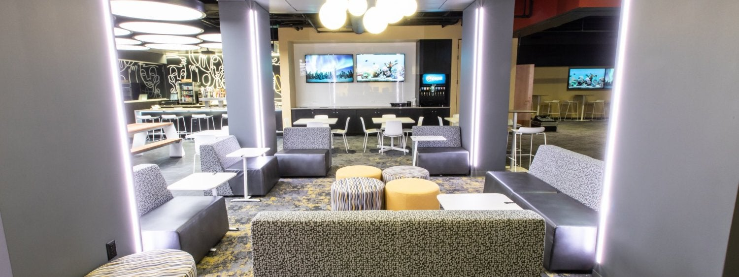 Lounge area at The Connection