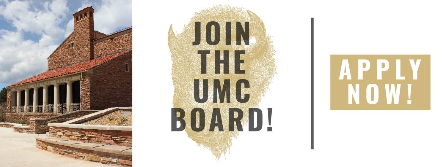 Join the UMC Board. Apply Now!