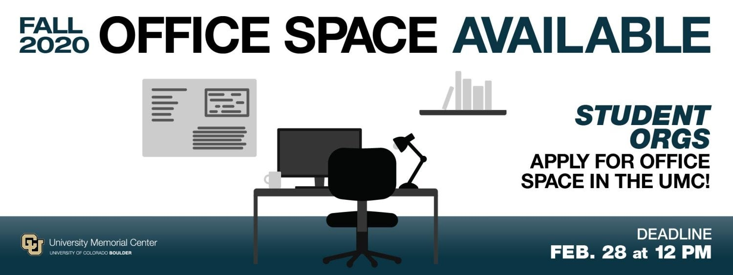 UMC Office Space and Lockers - Apply by Feb. 28