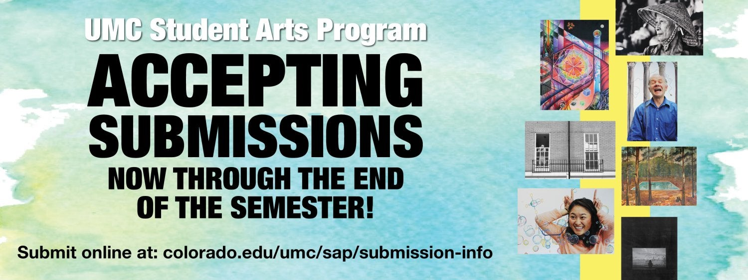 UMC Student Arts Program Now Accepting Submissions