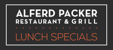 Alferd Paker Grill Lunch Specials