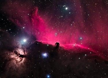 """Horsehead Nebula / Flame Nebula"" by Zach Evans"