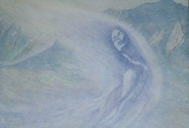 """""""Snow Goddess"""" by Jerry Jaramillo"""