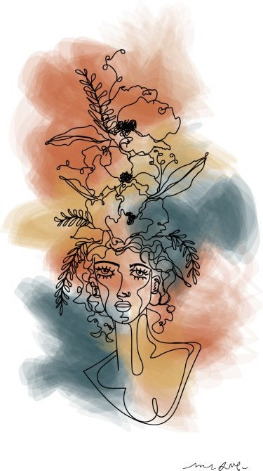 """l'éthérée"" by Madison Sinsel"