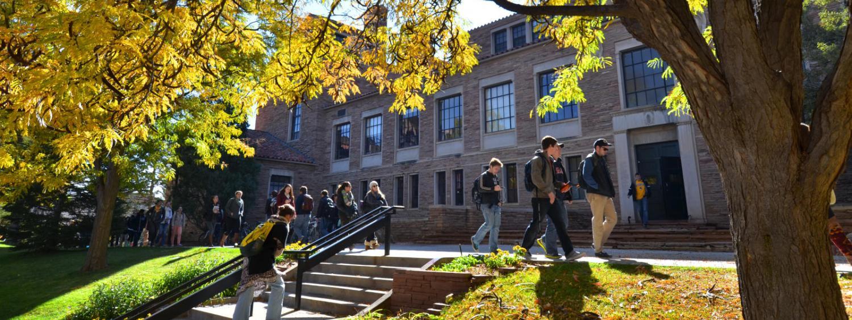 Ketchum students walking