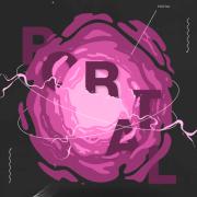 Visual representation of a portal