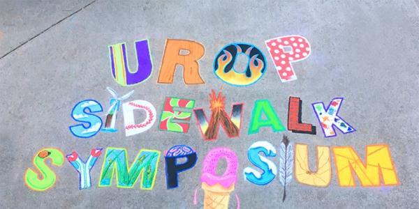 2019 UROP Sidewalk Symposium Sign