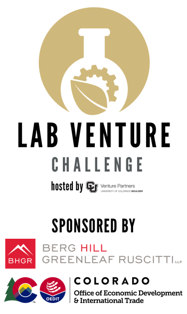 lab venture challenge logo with sponsors