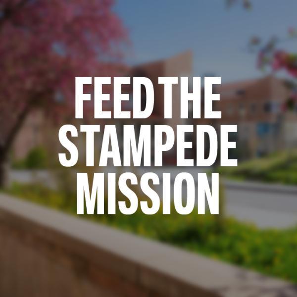 Food the Stampede Mission