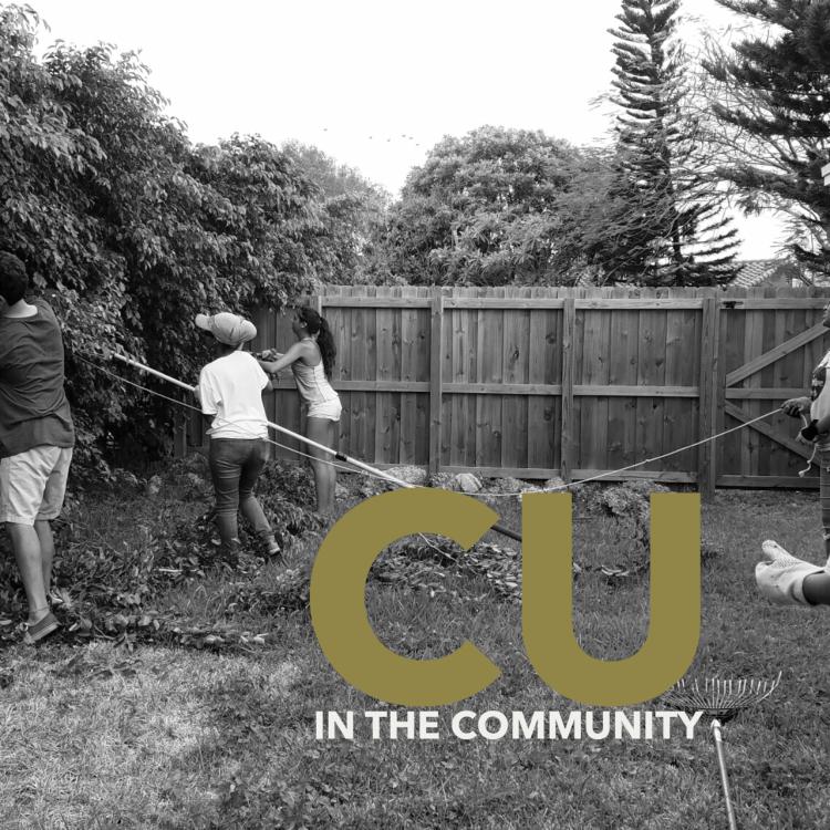 CU in the community photos