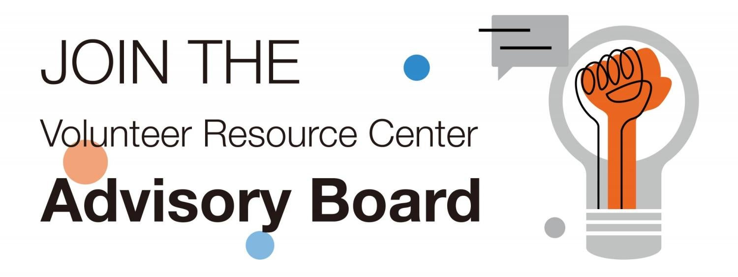 join the volunteer resource center advisory board