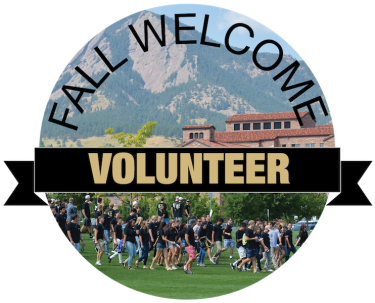 Fall Welcome Volunteer Logo