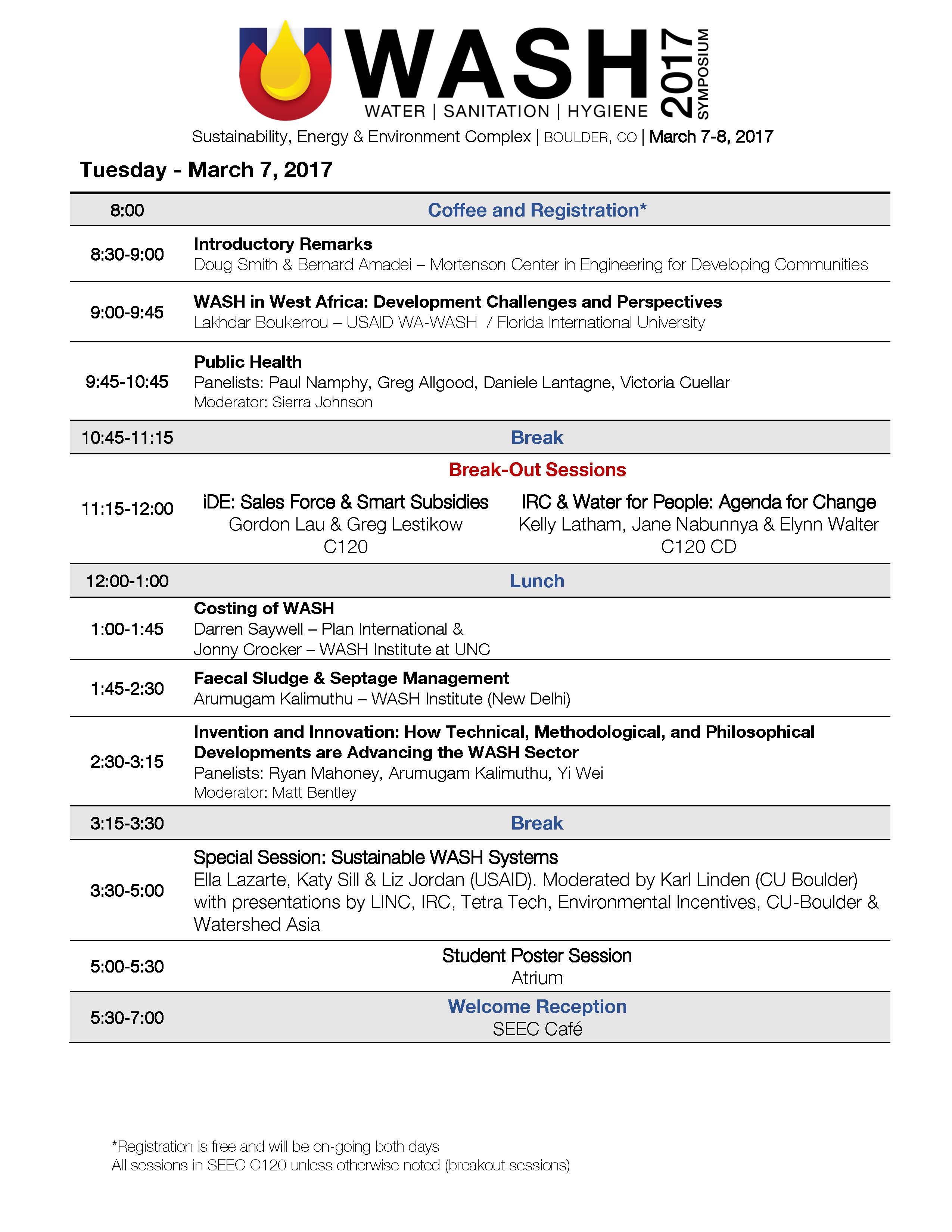 2017 CO WASH Symposium Program pg 1