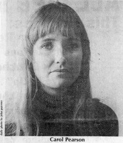 Carol Pearson, 1974