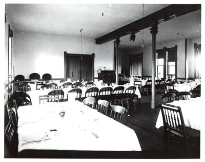 Historic picture of Reading Room