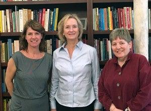 Lorraine Bayard de Volo, Carol Pearson & Glenda Russell in 2016
