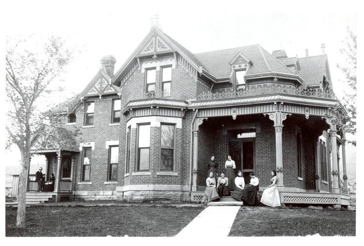 Historic Photo of the Cottage