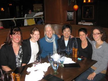 Dr. Jaggar with CU alums at the Pacific APA in 2012