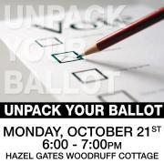 Unpack Your Ballot